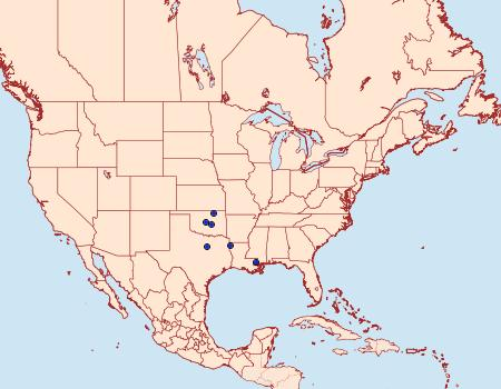 Distribution Data for Schinia varix