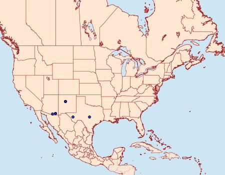 Distribution Data for Megacraspedus plutella
