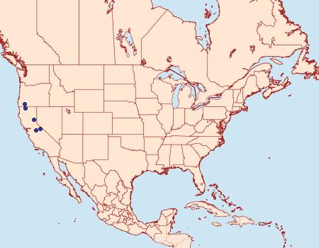 Distribution Data for Argyresthia libocedrella