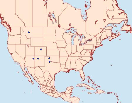 Distribution Data for Eucosma montanana