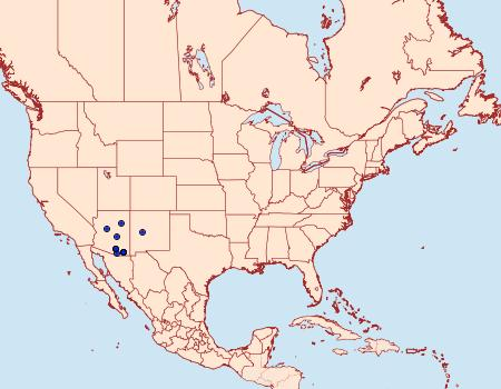 Distribution Data for Sparganothoides machimiana