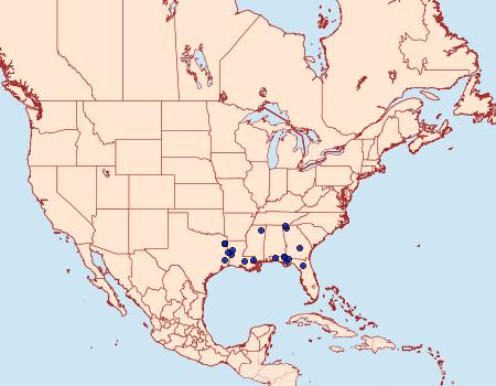 Distribution Data for Catocala orba