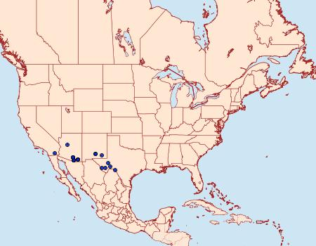 Distribution Data for Ozarba propera